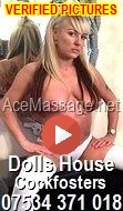 DOLLS HOUSE MASSAGE PARLOURS IN COCKFOSTERS NORTH LONDON / MIDDLESEX